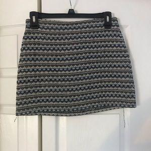 Knit design skirt